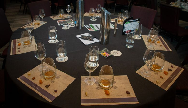 Tasting during the conference